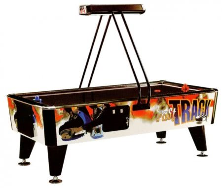 Reconditioned Fast Track 8ft Commercial Air Hockey Table