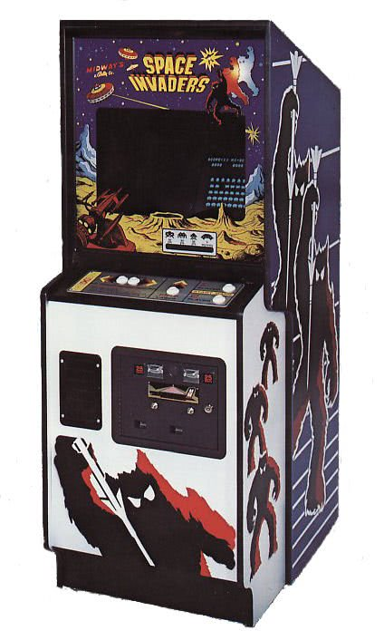 Midway Space Invaders Arcade Machine Liberty Games
