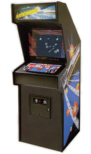 Atari Asteroids Arcade Machine