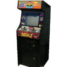 Capcom Street Fighter II Arcade Machine