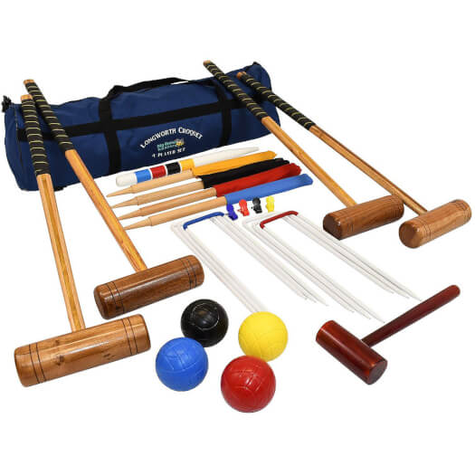 Longworth 4 Player Croquet Set with Bag (2107)