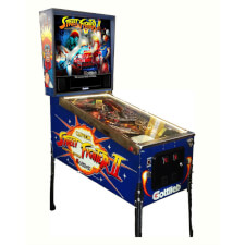 Street Fighter II Pinball Machine