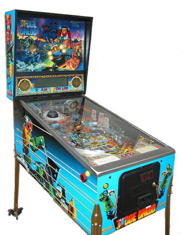Judge Dredd Pinball Liberty Games