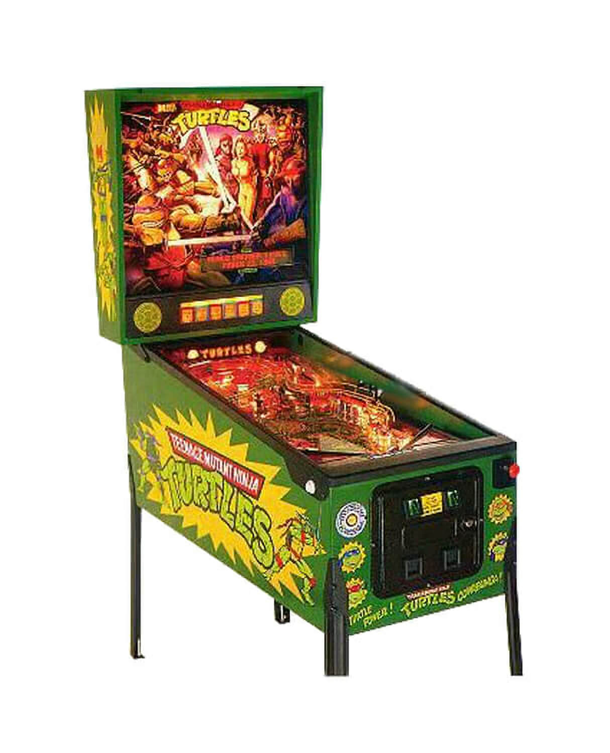 Teenage Mutant Ninja Turtles Pinball Machine Liberty Games