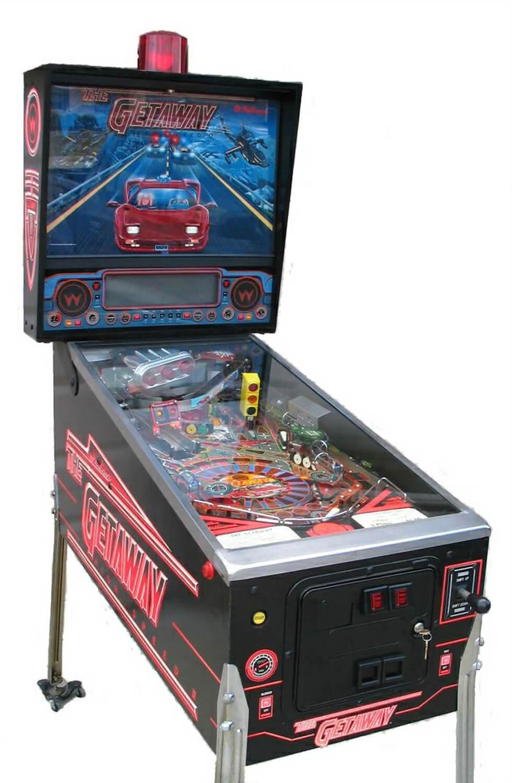 The Getaway High Speed Ii Pinball Machine Liberty Games