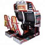 Coin Op. Driving & Shooting Arcade Machines