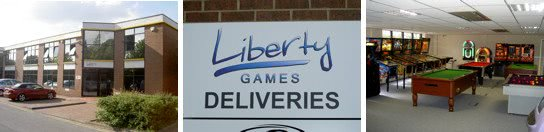 The Liberty Games Megastore & Warehouse