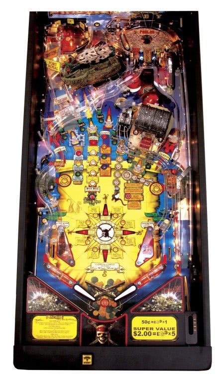 Stern Pirates Of The Caribbean Pinball Machine Liberty Games