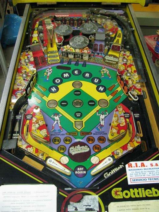 Silver Slugger Pinball Machine Liberty Games