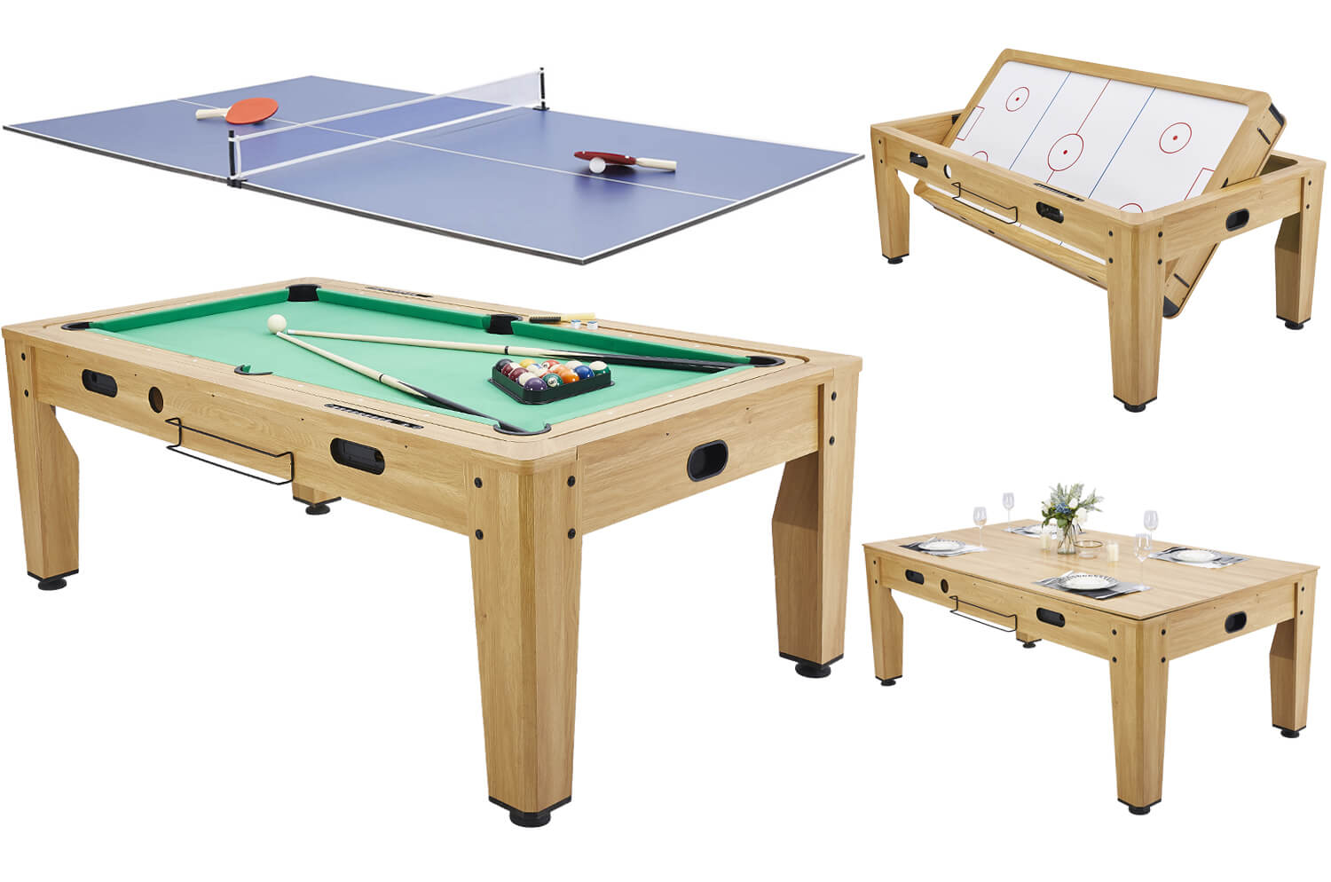 Pureline 7ft Multi Games Dining Table Liberty Games