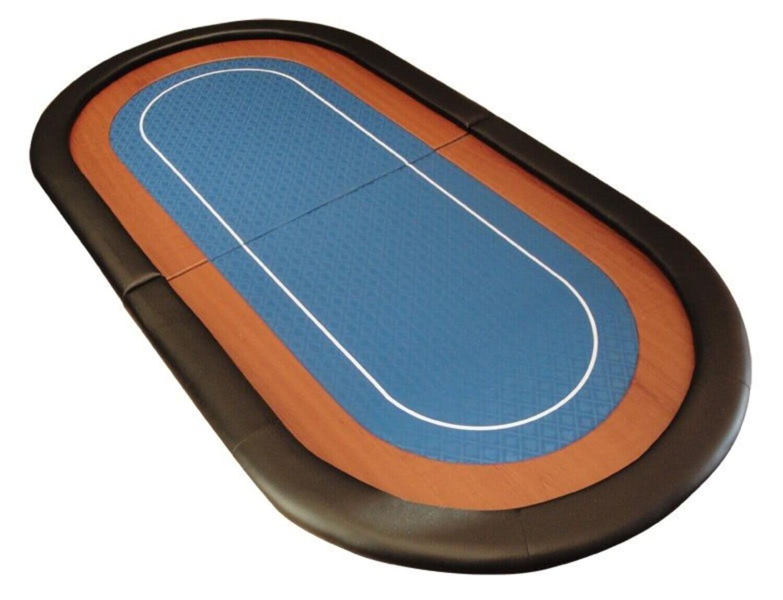 Champion Folding Poker Table Top   Colour : Blue Table Top (RT 300BLUE)