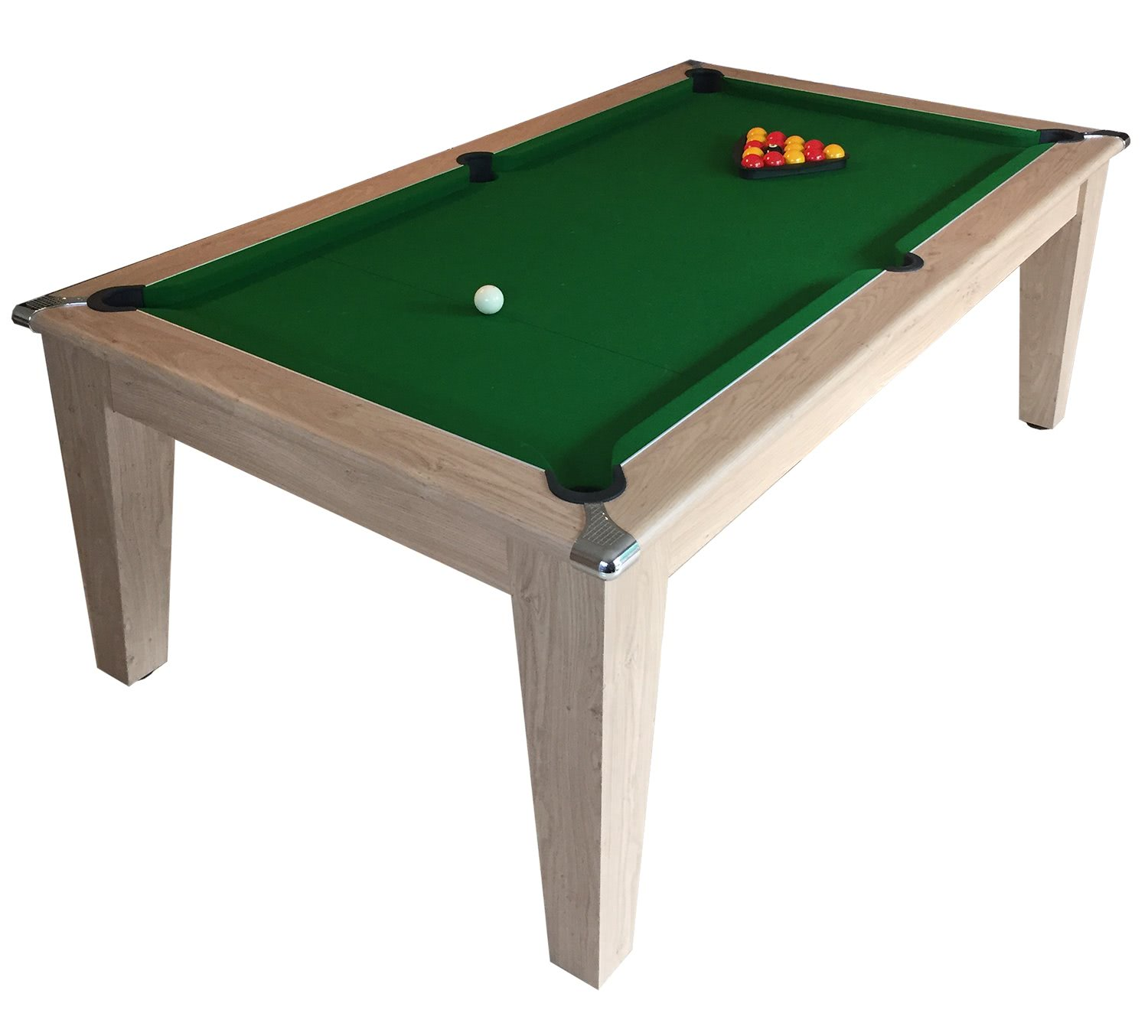 Classic Diner Pool Dining Table - 6 Ft, 7 Ft