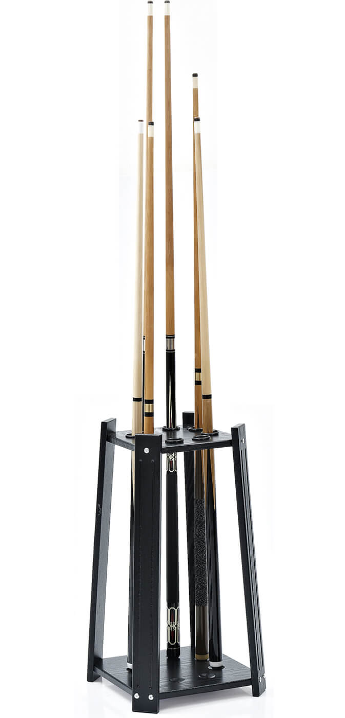 Strikeworth Compact Pool Cue Stand For 8 Cues Liberty Games