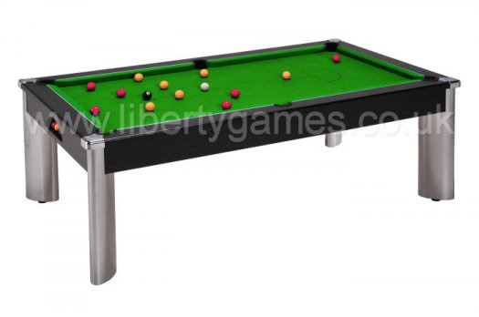 Fusion pool dining table 6 ft 7 ft liberty games for 1 inch slate pool table