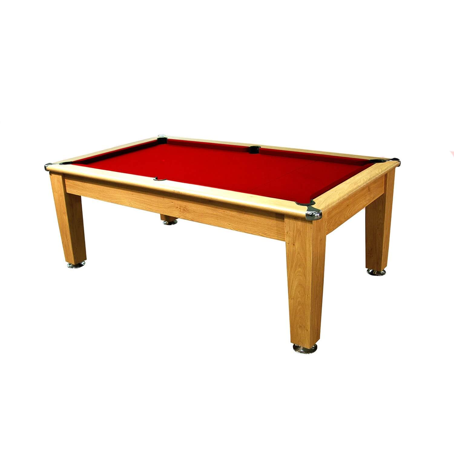 Roma slate bed pool dining table 6 ft 7 ft liberty games for Table 6 feet