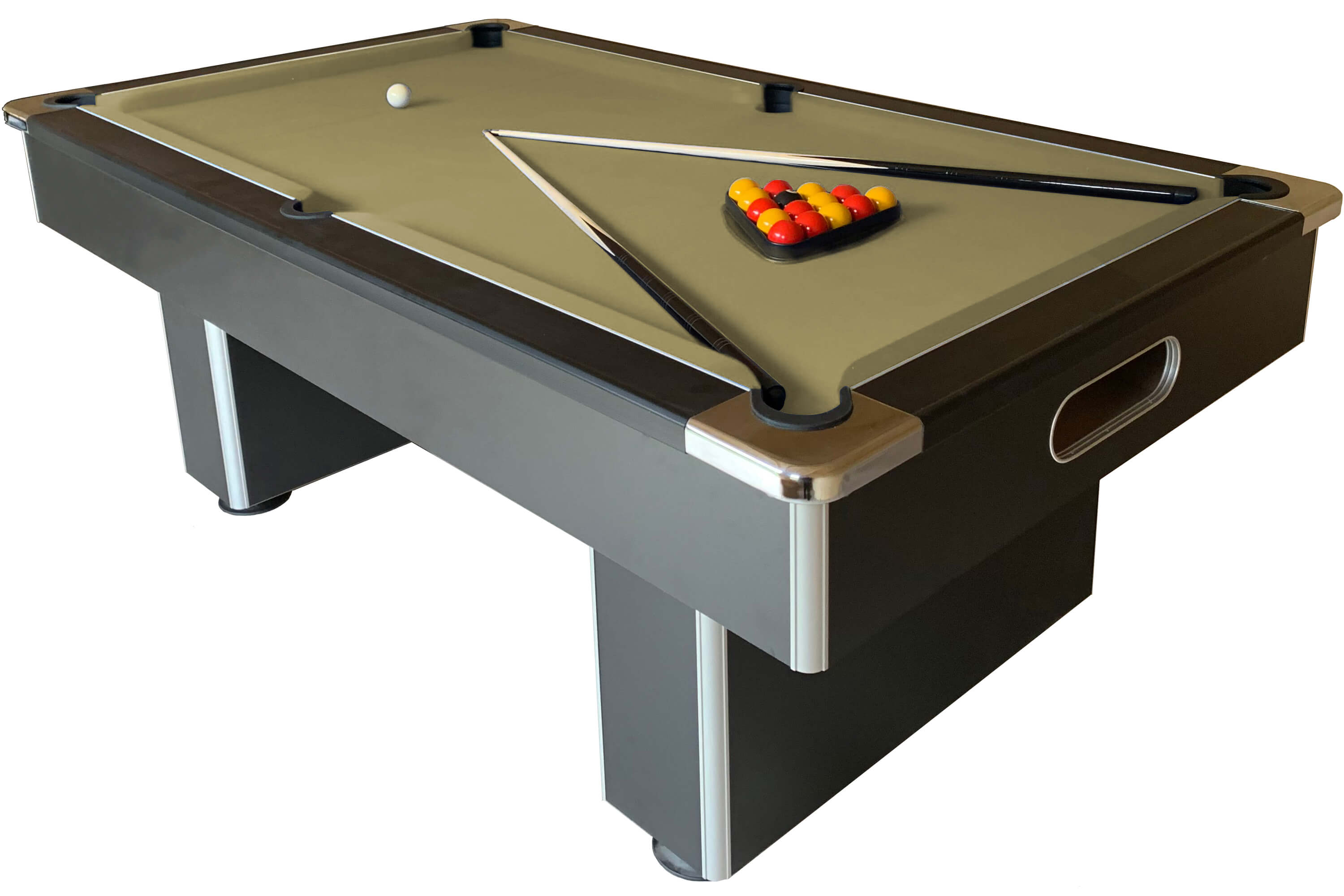 Peachy Slimline Slate Bed Pool Table Home Interior And Landscaping Sapresignezvosmurscom