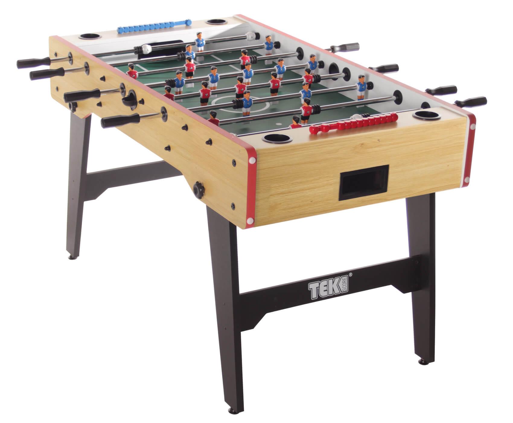 tekscore folding leg football table liberty games. Black Bedroom Furniture Sets. Home Design Ideas