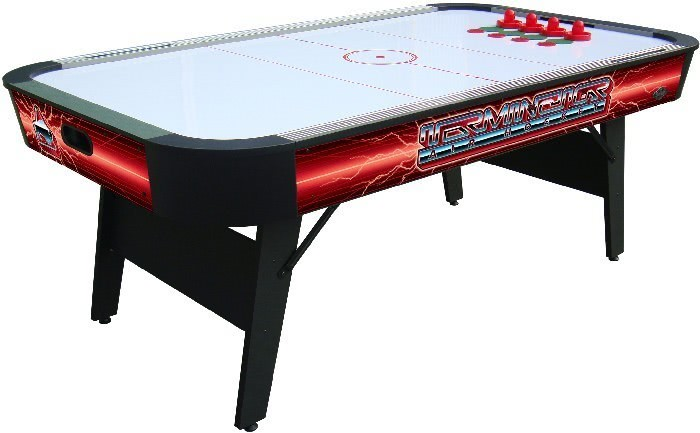 Air hockey table with folding legs image collections table terminator ii air hockey liberty games buffalo terminator ii 7ft air hockey table choose the folding greentooth Choice Image