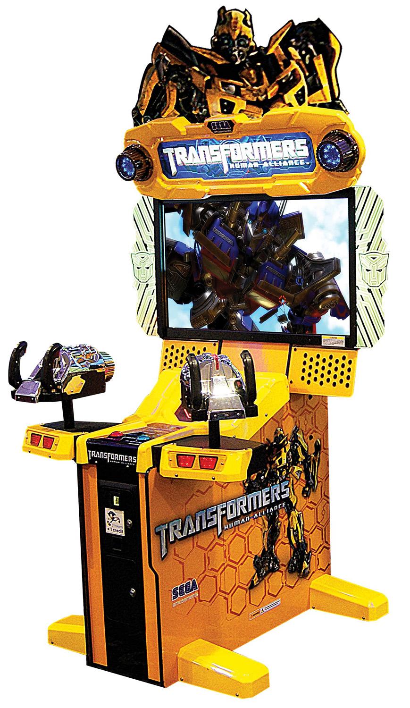 Sega Transformers Human Alliance Arcade Machine