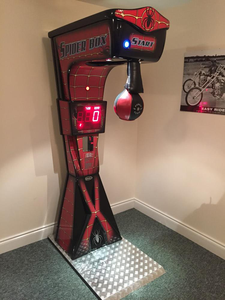 Boxer Spider Boxing Arcade Machine Liberty Games
