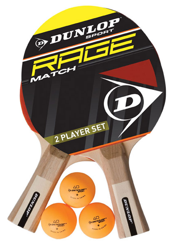 Dunlop Rage bat and ball set