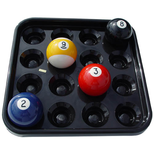 Billiard ball tray for 16 balls.