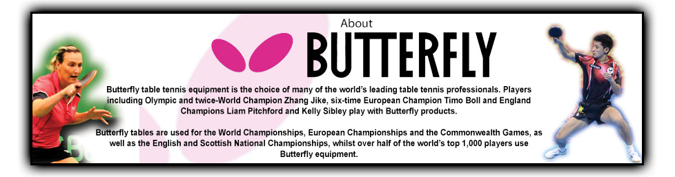 Butterfly table tennis footer