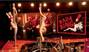 Bada Bing Fishing http://www.libertygames.co.uk/store/pinball_machines/brand_new_pinball_machines/the-sopranos-pinball/