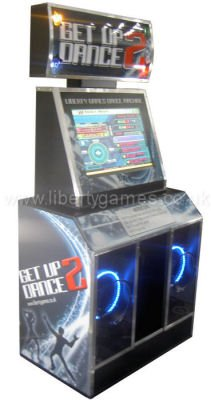 The Get up 2 Dance Arcade Machine is a second generation dance machine...