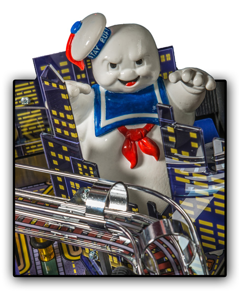 Stern Ghostbusters pinball Mr Stay-Puft