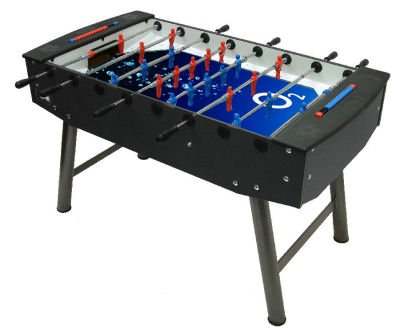 Football Table branded with O2 logo
