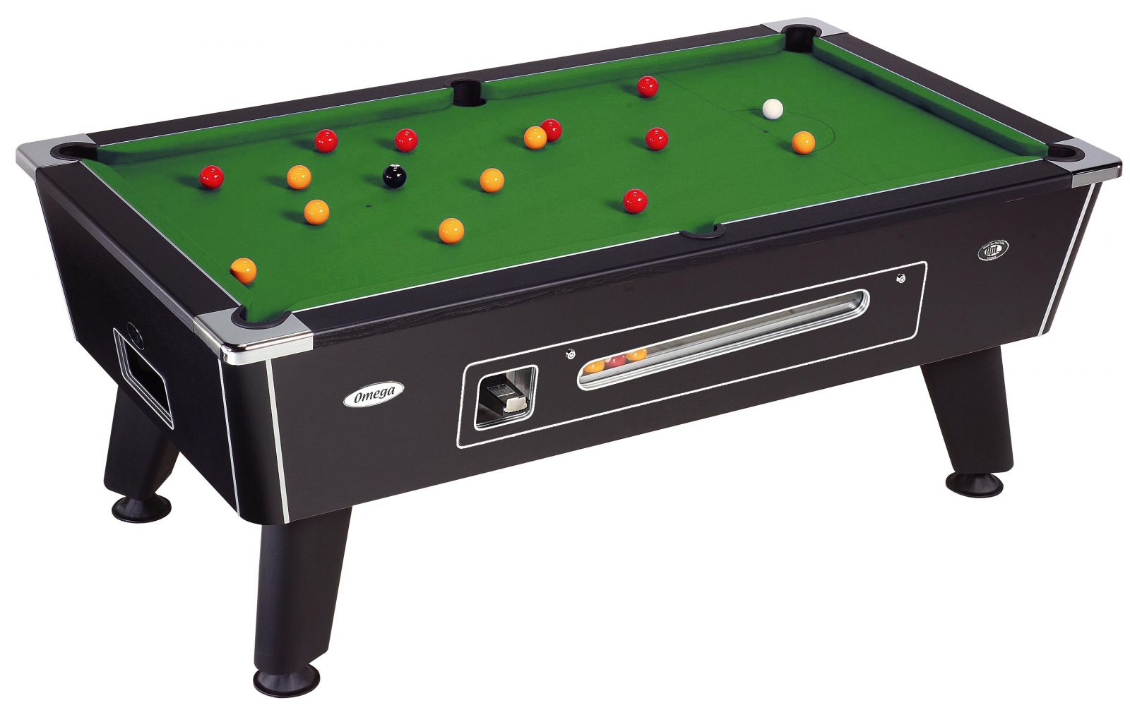 The Omega slate bed pool table
