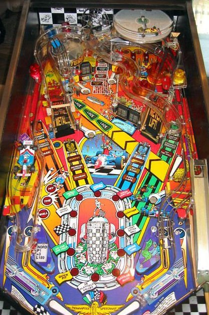 Indianapolis 500 Pinball For Sale | Liberty Games