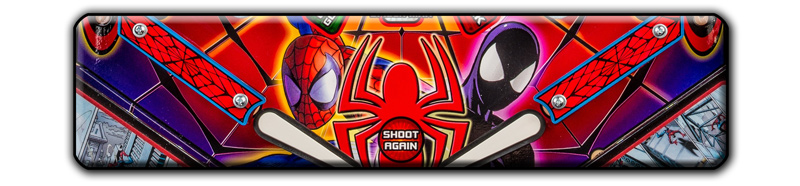 Stern Spider-Man Vault Edition Pinball Playfield Detail