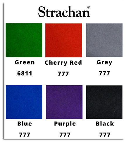 Strachan cloth swatch for DPT tables