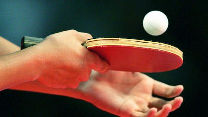 Tennis on a table service for Table tennis serving rules
