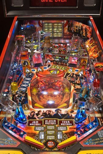 Stern Ac Dc Premium Pinball Machine For Sale Liberty Games