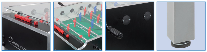 Details of the Garlando Class table football table