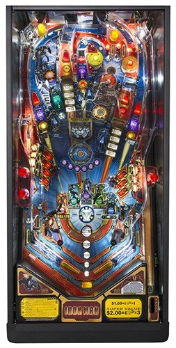 Stern Iron Man Pinball Machine Liberty Games