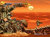 Metal Slug arcade screenshot