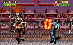 Mortal Kombat arcade screenshot