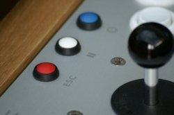 Contemporary Arcade Coffee Table - Button Panel