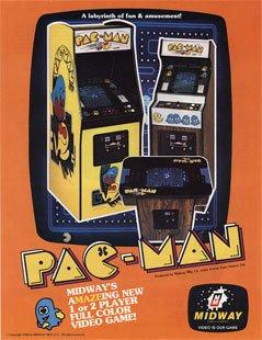 Pacman Arcade Flyer