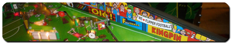 Capcom Flipper Football pinball machine playfield detail