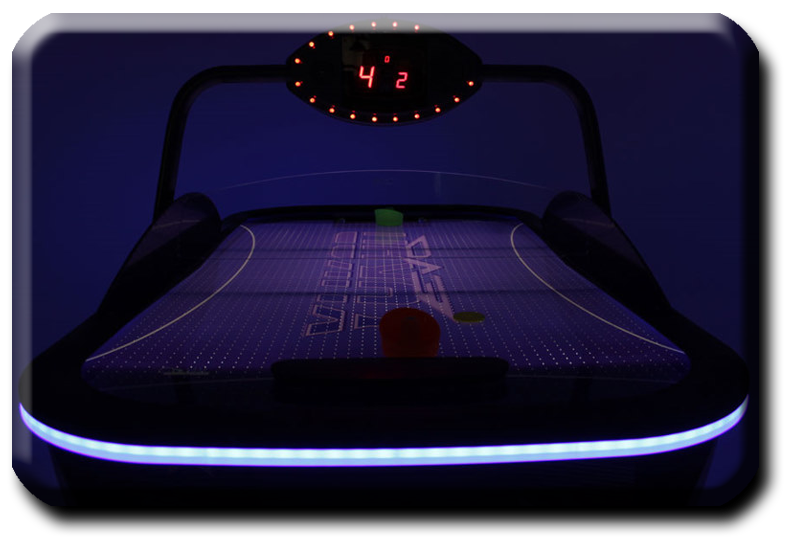 Yukon Evo air hockey table playfield detail