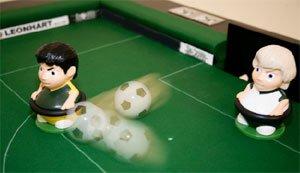 snoccer soccer snooker scoring goal
