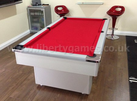 Pool Table Recovering Liberty Games