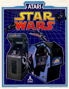 Star Wars Arcade Machine Flyer