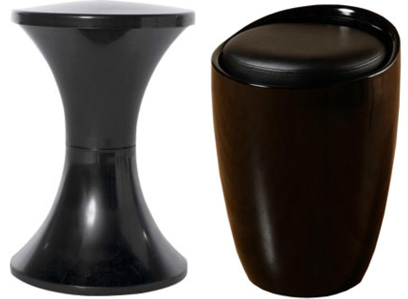 The stools available with the Synergy multiplay arcade machine