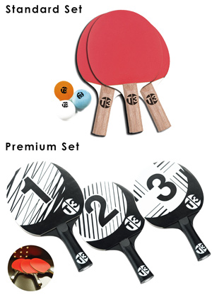 Accessory options for the T3 table tennis range